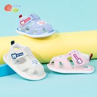 贝贝怡童鞋婴儿学步鞋凉鞋2020夏季6-24个月透气防滑宝宝鞋子