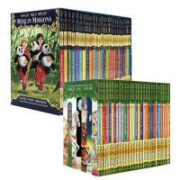 【全店1200减400】英文原版Magic Tree House 1-28册Merlin Missions 29-53神