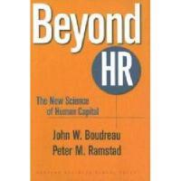 【预订】Beyond HR: The New Science of Human Capital