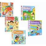 【买三免一】英文原版 busy系列 5册 Busy Swimming/Kittens/Playtime/Park 纸板