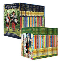 现货 英文原版 Magic Tree House 53册 神奇树屋章节桥梁书绘本美国中小学推荐课外阅读分阶学习巩固英语