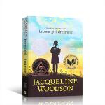 顺丰发货 (西文)企鹅兰登出版 英文原版 纽伯瑞儿童文学奖 Brown Girl Dreaming 黑人女孩的梦想 进