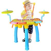 儿童初学者电子琴宝宝敲打爵士架子鼓小钢琴3-6岁音乐器玩具