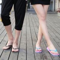 男拖鞋夹板沙滩鞋浴室拖鞋休闲男鞋潮夏季新款男士人字拖情侣拖鞋