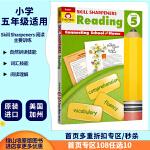 【五年级阅读练习】Skill Sharpeners Reading Grade 5 美国加州阅读技巧技能铅卷笔刀 小学