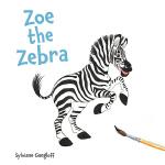 【中商原版】斑马佐伊 英文原版 Zoe the Zebra (Talking Back) 精装 动物故事绘本 3-6岁