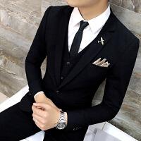 新款春季休闲西服男套装小西装韩版修身款青春外套潮上班上衣