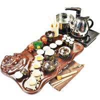 电磁炉茶台茶道紫砂茶具套装家用茶盘整套陶瓷茶杯