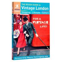 【中商原版】易行指南:复古伦敦 英文原版 The Rough Guide to Vintage London Roug