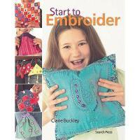 【预订】Start to Embroider