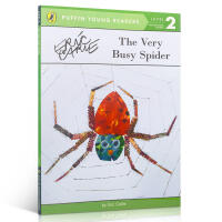 Puffin Young Reader Level 2 The Very Busy Spider 非常忙的蜘蛛 Eric Carle 艾瑞・卡尔 经典作品