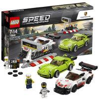 4月新品乐高赛车系列 75888 保时捷 911 RSR和 911 Turbo 3.0