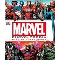 Marvel Encyclopedia 漫威百科全书【英文原版童书  DK系列、漫威圣经级的资料书、容纳了众多漫威的角色和事件】