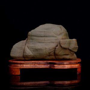 天然松花石象形摆件