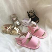 婴儿鞋夏季 宝宝凉鞋学步鞋镂空翅膀