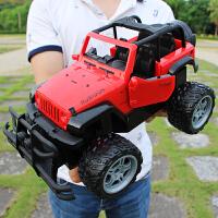 超大遥控车越野车大脚玩具车充电可开门遥控汽车儿童漂移赛车男孩