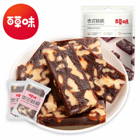 【百草味-红枣泥夹核桃仁160g】枣糕儿童小零食 新疆小吃特产