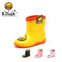【跨店2件4折:39.6元】B.Duck小�S���和�雨鞋雨靴幼�嚎ㄍㄐ『⒎阑�水鞋小童�W生男女童雨鞋