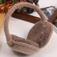 韩版冬保暖毛绒学生耳罩男女情侣伸缩可折叠耳套创意捂耳包护耳朵