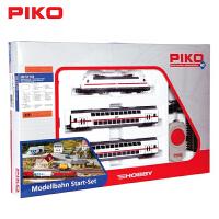 PIKO火车模型初级套装BR146电车2个双层乘客车厢火车套装品质定制新品