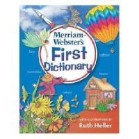 进口原版 Merriam-Webster's First Dictionary 韦氏初级儿童字典(适合5-7岁)