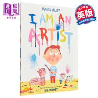 【中商原版】Marta Altés:我是艺术家 I Am an Artist 平装 精品绘本 幼儿创造力想象力启蒙绘本