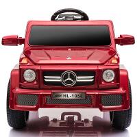 儿童电动车越野遥控摇摆汽车宝宝玩具车可坐人四轮小孩童车双驱动
