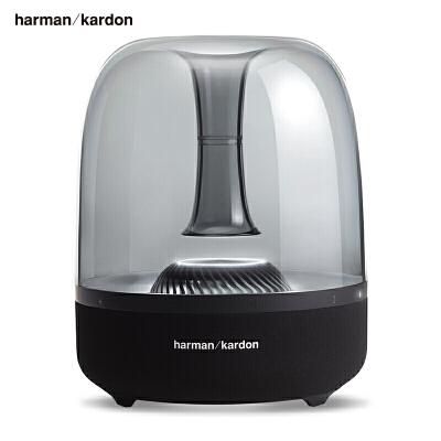 【当当自营】哈曼卡顿(Harman Kardon) Aura Studio2 音乐琉璃2代二代 360度立体声 桌面蓝牙音箱 低音炮 电脑音箱 买音箱上当当,经典再升级 美感天成!