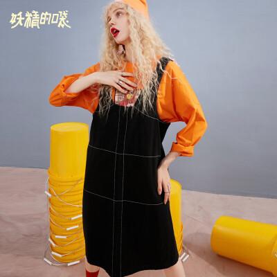 【限时直降:130】妖精的口袋无袖背带连衣裙秋装新款简约韩版chic早秋裙女 为有趣的人创造惊喜
