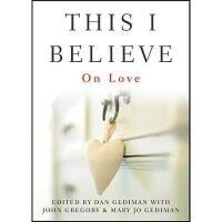 【预订】This I Believe: On Love