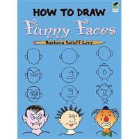 【预订】How to Draw Funny Faces