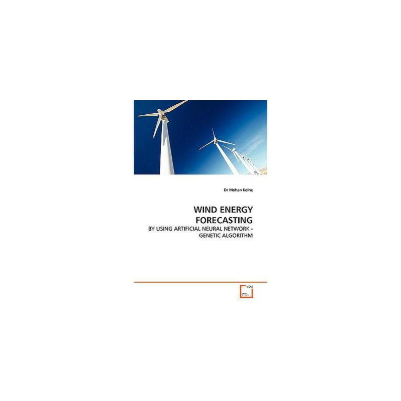 【预订】Wind Energy Forecasting - By Using Artificial Neural 美国库房发货,通常付款后3-5周到货!