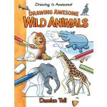 【预订】Drawing Awesome Wild Animals