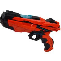 儿童手动软弹枪玩具枪大号圣冰闪烁炫彩灯光礼物