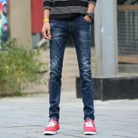 新款2018男士裤子夏季春夏韩版修身弹力小脚显瘦男装牛仔裤男潮流