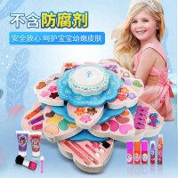 儿童化妆品套装女孩新年礼物6公主口红化妆盒10-12玩具儿童节礼物