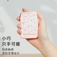�有拿阅阋贫�电源可爱手机通用10000毫安便携快速礼品充电宝定制