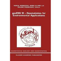 【预订】Geoenv III - Geostatistics for Environmental