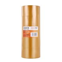 黄色胶带米黄胶带 封箱胶带 胶布 胶纸 透明胶带 胶条 高粘度 48mm*100m米黄 6卷/1筒