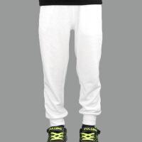 童装春秋儿童白色黑色运动裤男童女童休闲卫裤长裤宝宝棉裤子潮