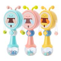 3-12个月婴幼儿手摇铃拨浪鼓铃铛宝宝婴儿玩具