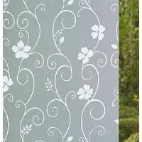免胶磨砂玻璃贴膜窗户贴纸隔热防晒阳台卫生间浴室家用窗花纸
