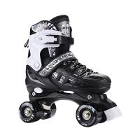 男女轮滑鞋初学者溜冰场溜冰鞋双排轮旱冰鞋儿童四轮滑冰鞋