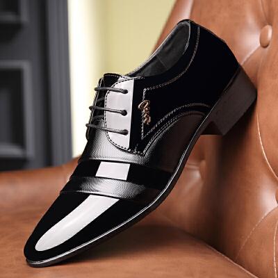 宜驰 EGCHI 商务休闲男士皮鞋子亮面耐磨正装 K99767 秋冬男靴,新品上架,快来看看吧~