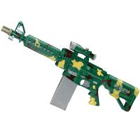 儿童电动连发软弹枪男孩玩具枪M4狙击枪迷彩款可发射