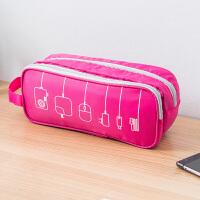 【满减】欧润哲 牛津布旅行数码收纳包 便携多用途收纳袋外出手机配件整理包包