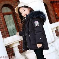 儿童羽绒服女童中长款童装宝宝小孩1-3岁冬小童女宝宝冬装加厚