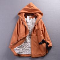 C1A@25 2.74斤冬季时尚气质连帽毛呢大衣中长纯色休闲外套女