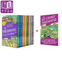 【中商原版】小屁孩树屋历险记9册 英文原版 Treehouse 疯狂树屋历险记 章节故事书