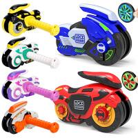 灵动创想魔幻旋风轮玩具风火轮摩托车儿童男孩旋转炫风轮陀螺新版